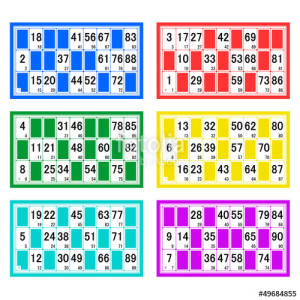 6 cartons loto